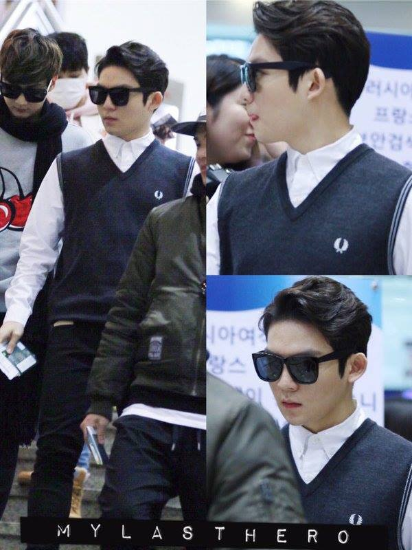 #틴탑 at Gimpo Airport (Depart to Japan) PHOTOS