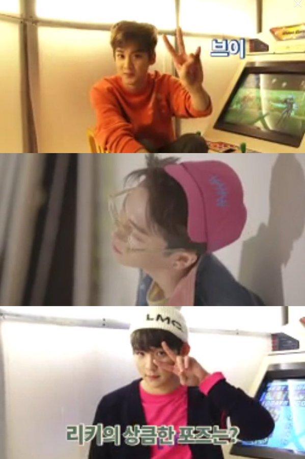 151002 - # TEENTOP (# ados Top) # Ricky ~ # Dreamteam+151210 TEEN TOP (틴탑) Ljoe (엘조) TvN BangShipop Cap 1 Cut+