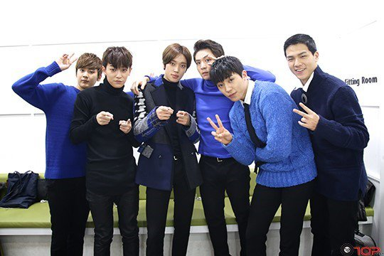 151212 TEEN TOP on Immortal Song PHOTOS