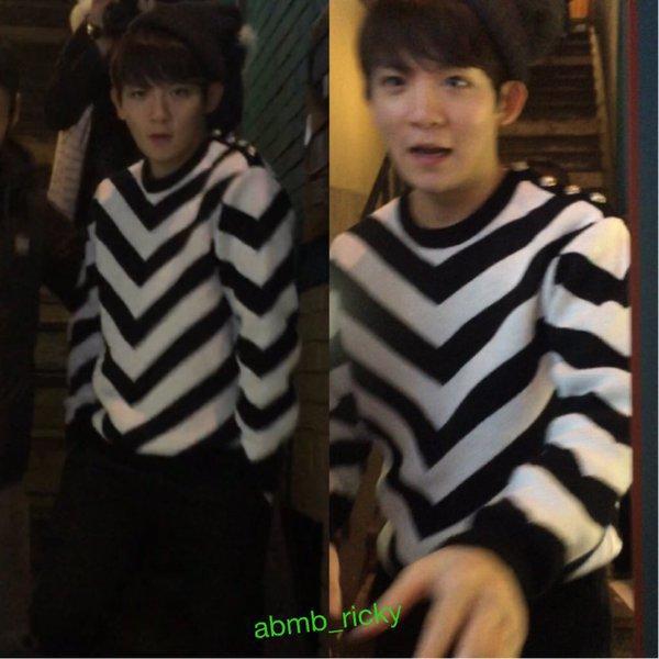 151218 après le travail Hongdae PHOTOS+151218 TEEN TOP (틴탑) Lotte World Party Ljoe (엘조) and ChangJo (창조) Cut+