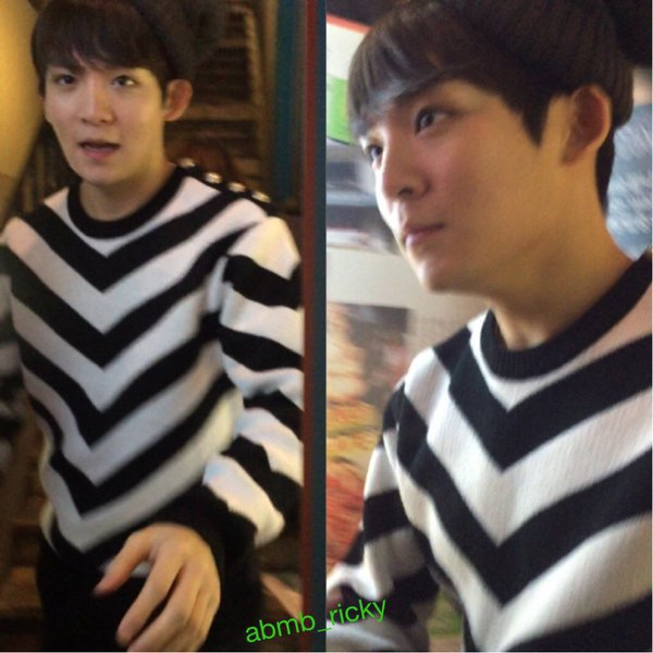 151218 après le travail Hongdae PHOTOS+151218 TEEN TOP (틴탑) Lotte World Party Ljoe (엘조) and ChangJo (창조) Cut+