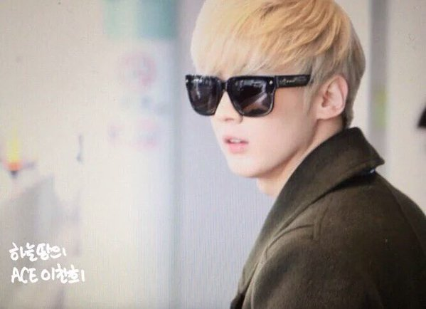 160106 # TEENTOP l '# Chunji à Haneda aéroport.PHOTOS