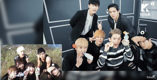 160119 1theK #hashtag(해시태그): TEEN TOP(#틴탑) _ Warning Sign(#사각지대) +