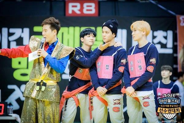 [Official Photo] 160209 #틴탑 MBC Idol Star Athletics Championship