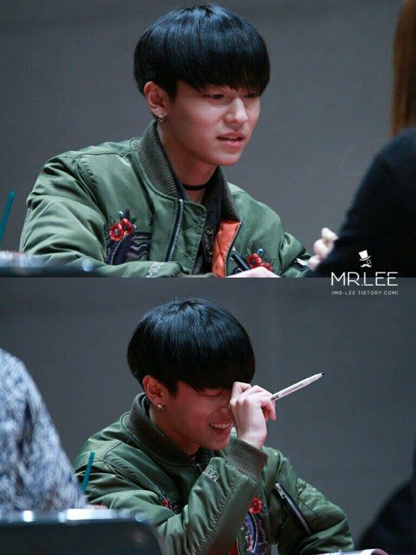 "165 photos sur Facebook dans l'album "" TEEN TOP <Mokdong Fansigning événement"