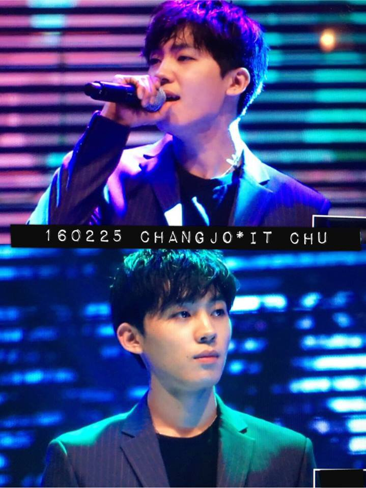 "photos CHANGJO in the album ""160225 TEEN TOP at  KFM Open Concert"""