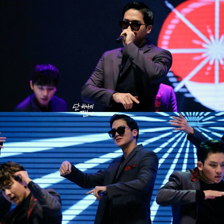 "photos CAP in the album ""160225 TEEN TOP at  KFM Open Concert"""