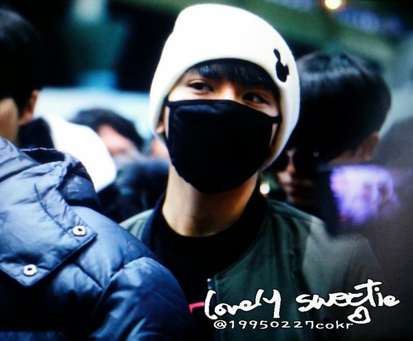 160227 TEEN TOP at Gimpo Airport depart to Japan