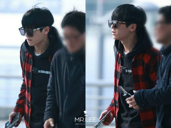 160402 teentop at Incheon Airport headinh to ✈ NY PHOTOS