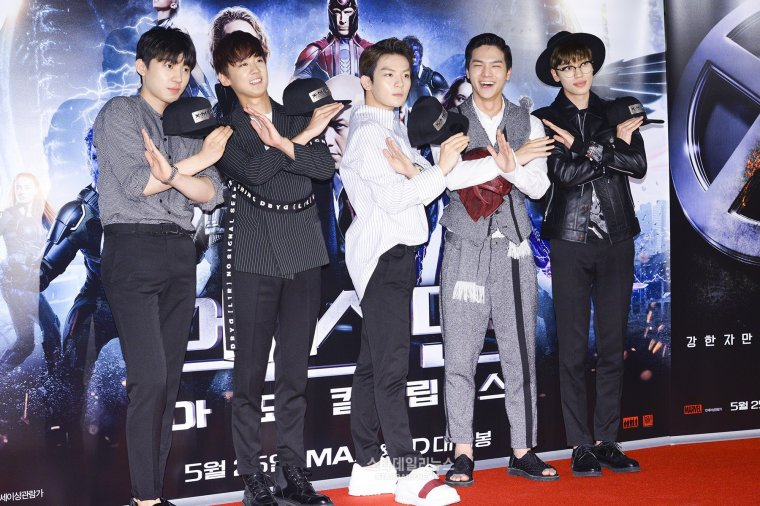] 160523 Press Pictures-TEEN TOP at X-MEN: Apocalypse Premiere