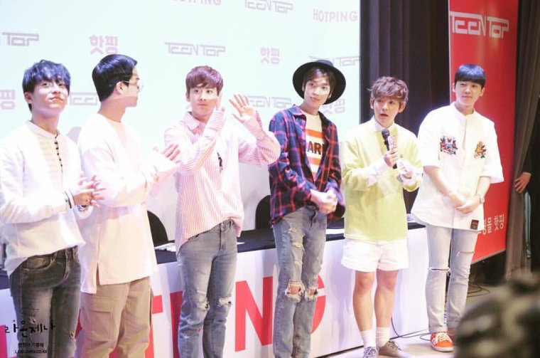 160716 TEENTOP (틴탑)  at HOTPING fansign!