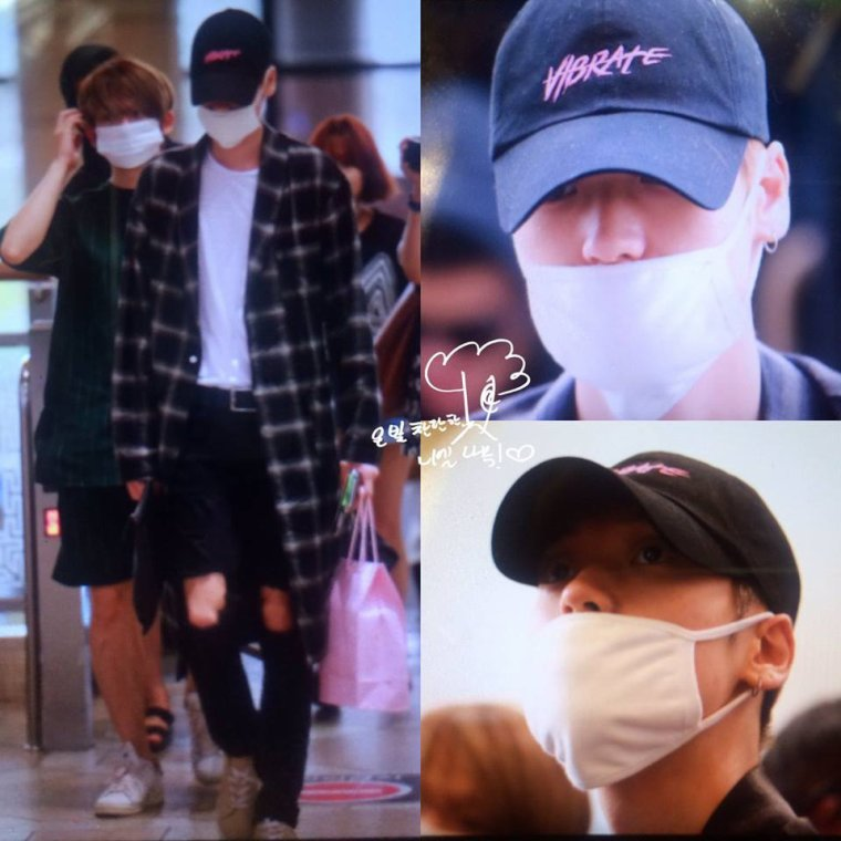 #TEENTOP #틴탑 at Gimpo Airport depart to Beijing