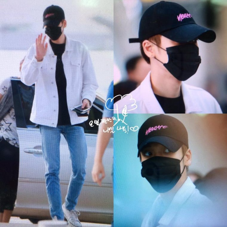TEEN TOP at Incheon Airport departure to Shanghai