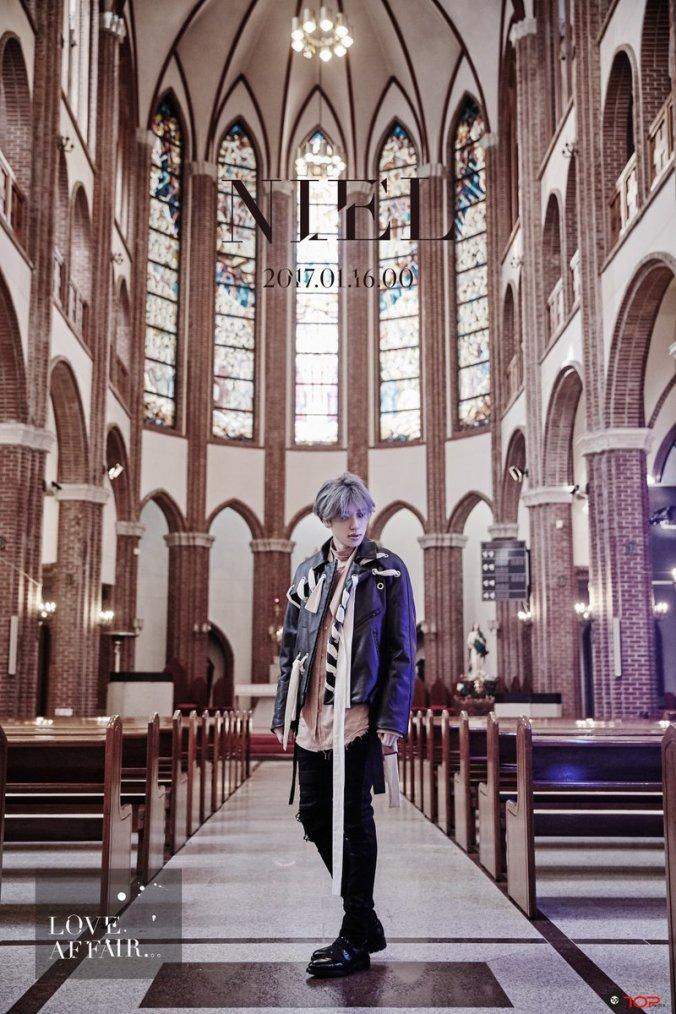 Le retour en solo de  Niel est réglé pour la mi-Janvier et le retour de TEEN TOP sera su  r Mars 2017! + 2016 with T.O.P. Media + NIEL(니엘)_날 울리지마(Love Affair) TEASER #1