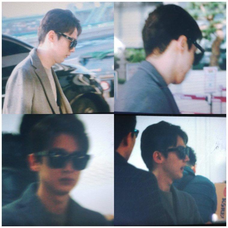 (230217)  @TEEN_TOP #CHUNJI en el Aereopuerto Gimpo rumbo a Japón.