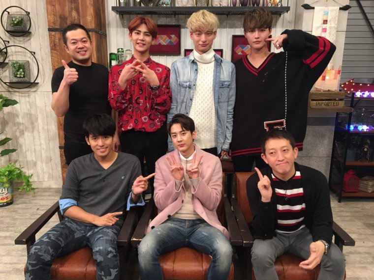 Teen Top # # # 20190225 Niel+ Photos Chunji+TEEN TOP ON AIR -  Niel et Chunji