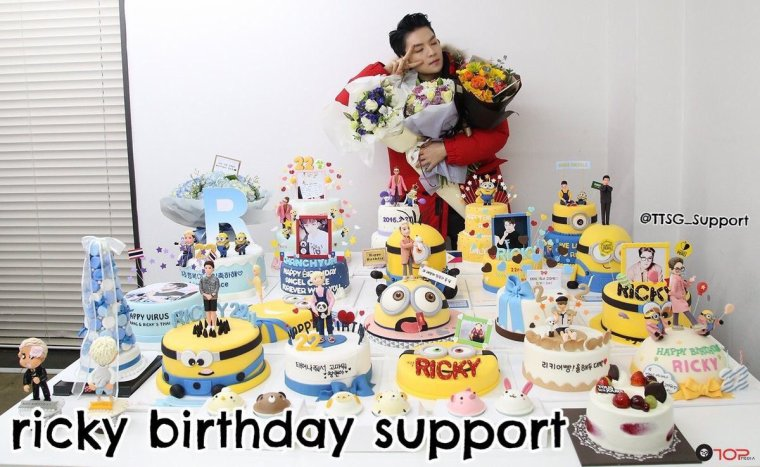 TEEN TOP ON AIR - HAPPY BIRTHDAY RICKY DES TEENTOP