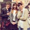 """PHOTOS CHUNJI ET NIEL+170302 TEEN TOP ON AIR - CHUNJI & NIEL+ TEEN TOP ON AIR - musical parsemé """"site de répétition Ma liste de seau» au Japon"""