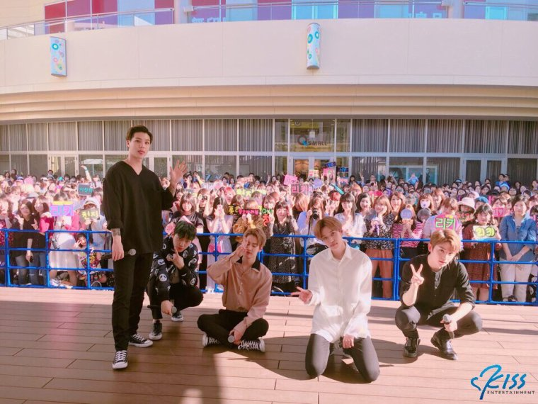 170528 Kobe, Japon # Highfive 2ème album complet Promotions TEENTOP PHOTOS