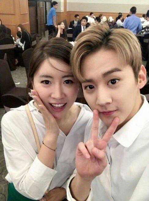 110617 # Chunji chanter au mariage de son frére, nous avons assisté avec d' autres membres. ♔ .+