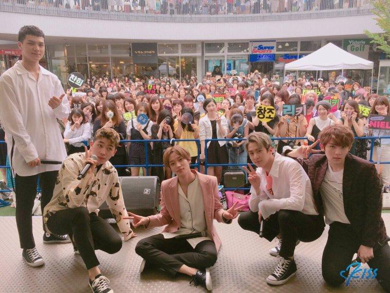 Teen Top Bonne septième anniversaire du groupe le 10/07/2017