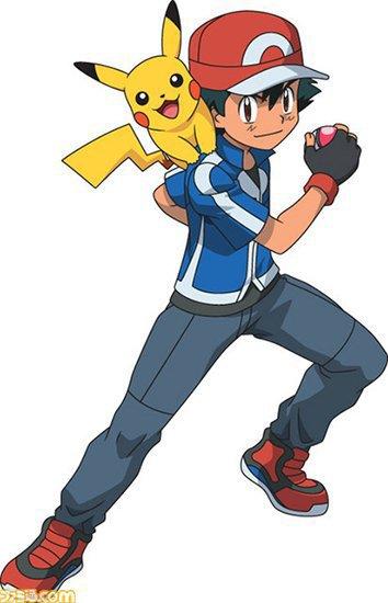 Liste et couleur des personnages de Pokémon