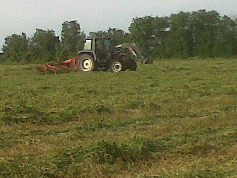La fenaison a la ferme