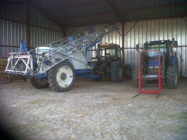 Les tracteurs à la ferme