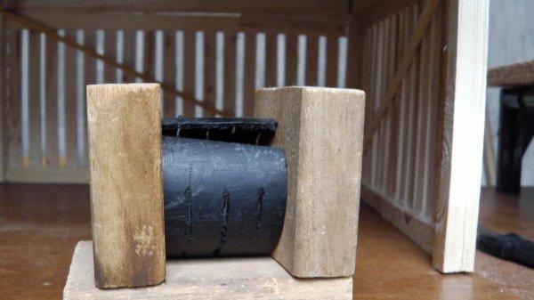 Petite réalisation pour faire des bottes de pailles (rondes)