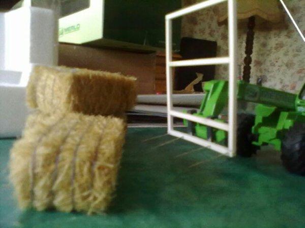 Réalisation de fourches pour bottes cubiques (Merlo)