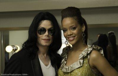 Michael JACKSON avec Rihanna