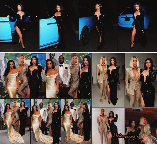 - -► 14/12/19-' : Kylie Jenner accompagnée de Khloé Kardashian, se sont rendues à la fête d'anniversaire de Sean Combs.    Kim Kardashian était aussi de la partie ! Elles ont fêté le 50ième anniversaire de Sean Combs alias P. Diddy. J'adore la coiffure de Ky, avec un carré court. -
