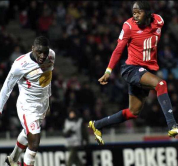 Maillot préparé de Paul ALO'O EFOULOU pour le match Lille-ASNL du 19-01-2011.