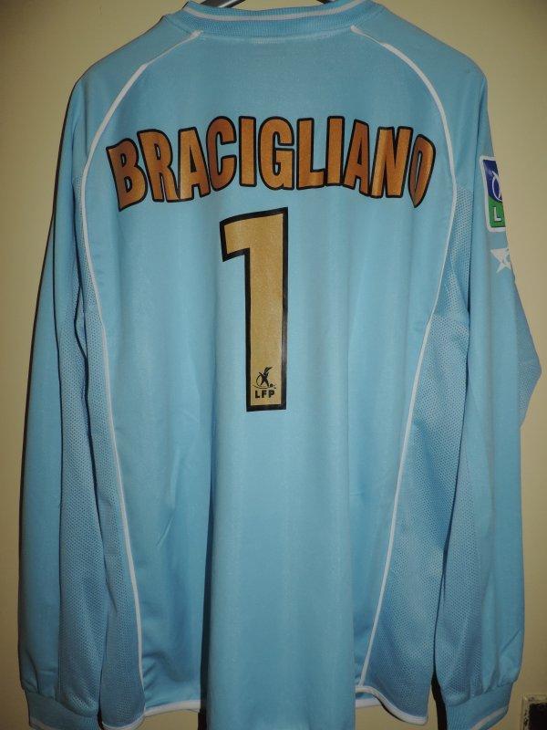 Maillot porté de Gennaro BRACIGLIANO lors de la saison 2005-2006 avec l'ASNL.