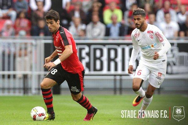 Maillot porté par Loïc PUYO lors du match RENNES / ASNL du 20-08-2016