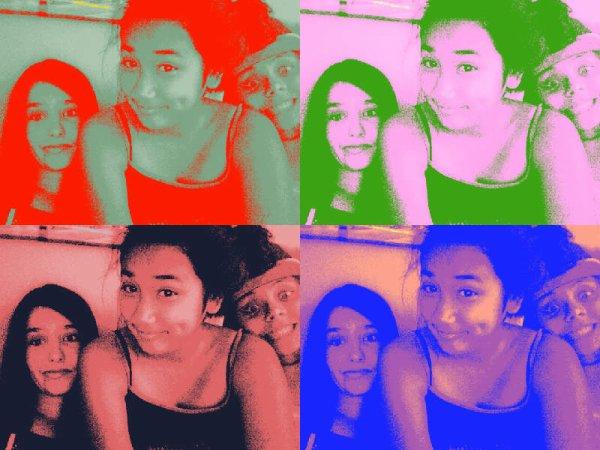 Emy, Camille & moi <3