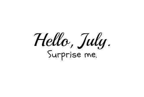 En juillet... fait des explications aux gens.