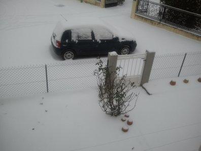 Tombe tombe la neige ...