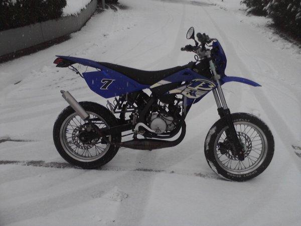 La Beta sous la neige ...