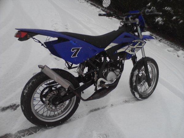 La Beta sous la neige...