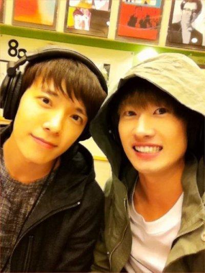 """Donghae et Eunhyuk sont les nouveaux duo """"Oppa est arrivé»"""