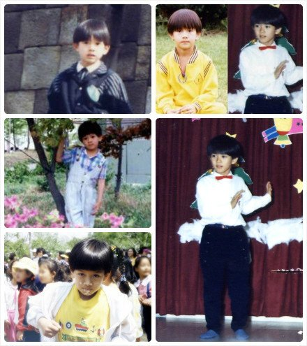 Cute little Heechul ..