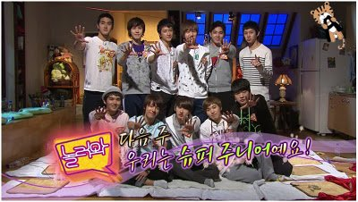 Variety Shows :Come to Play with Super Junior