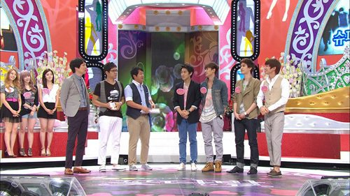 Variety show:Bouquet - Super Junior & Miss A