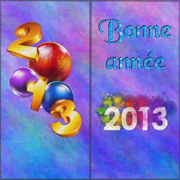 BONNE ANNEE 2013!!!!!!!!!!!