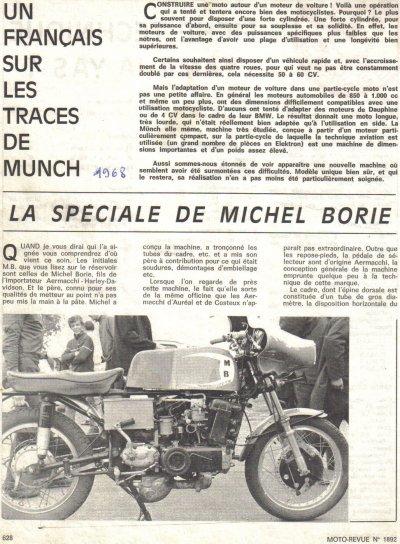Moto a moteur de voiture ( 1968 )
