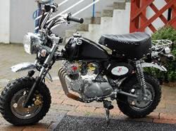 La moto de Ross .