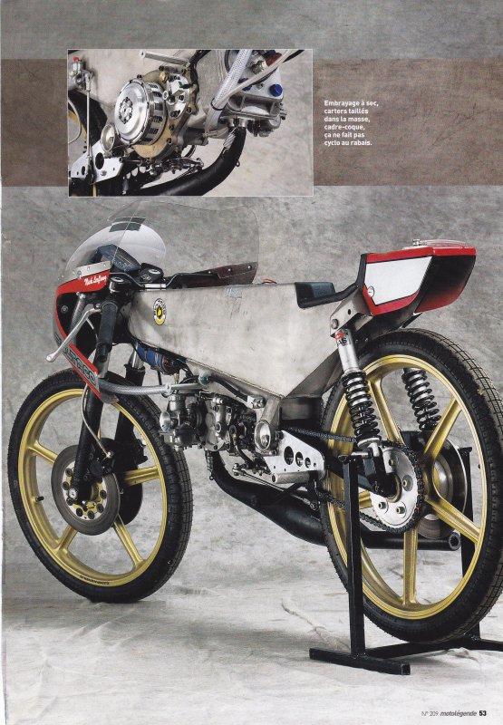 Un cinquante de légende  ( documents Moto-légende)