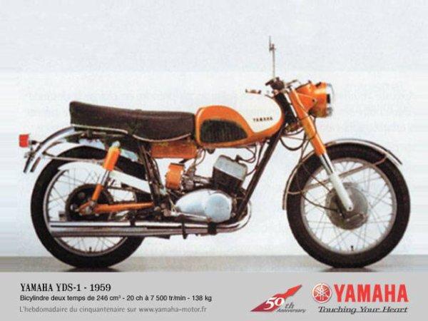 La Yamaha YDS1 . La grand mére des TZ ??