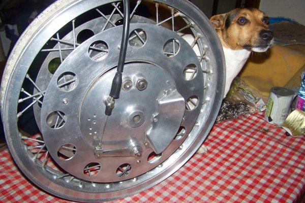 J  ai trouvé une roue !